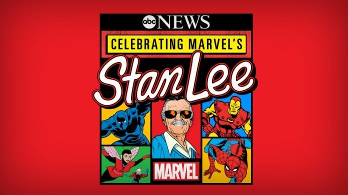 celebrating marvel's stan lee special abc news
