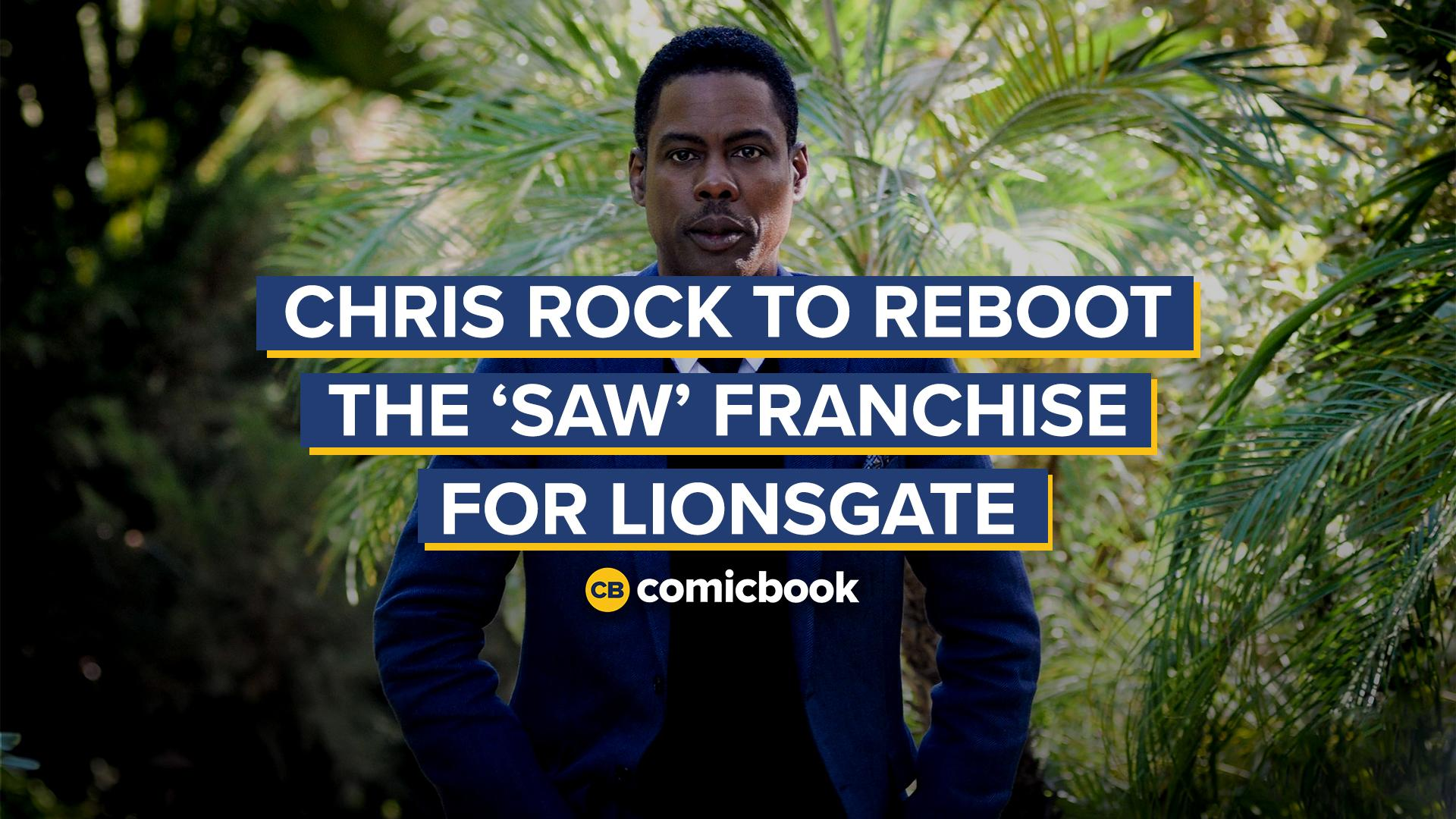 Chris Rock to Reboot the Saw Franchise for Lionsgate screen capture