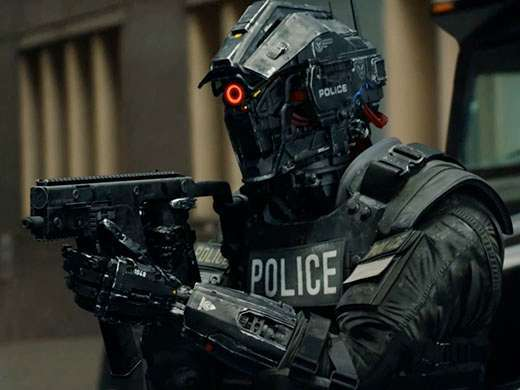 code 8 police robot