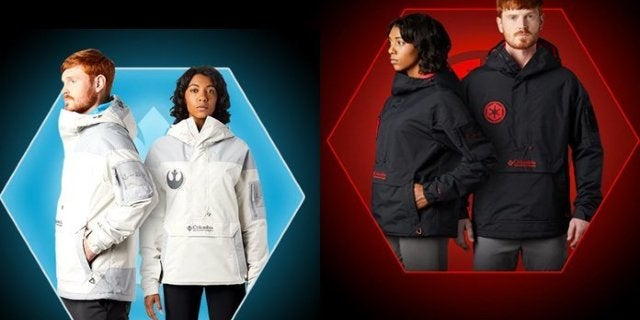 Columbia Launches Star Wars Light Side and Dark Side Jackets for The Rise of Skywalker