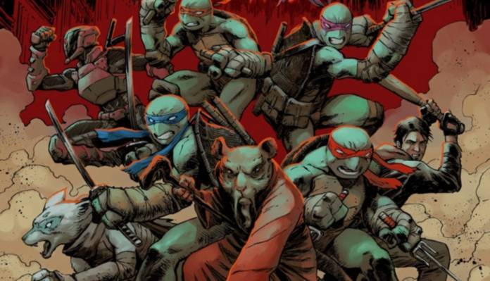 Comic Reviews - Teenage Mutant Ninja Turtles #100