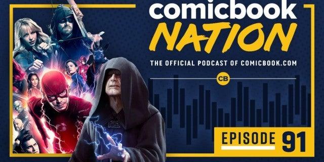 ComicBook Nation Podcast Star Wars Rise of Skywalker Palpatine Kylo Ren Scene Crisis Infinite Earths Spoilers Recap Jumanji 2 Reviews