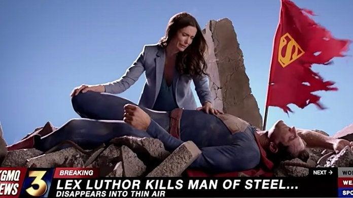 crisis on infinite earths death of superman