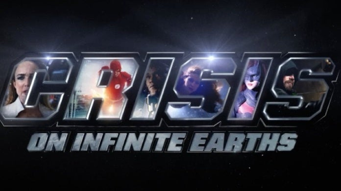 crisis on infinite earths new logo