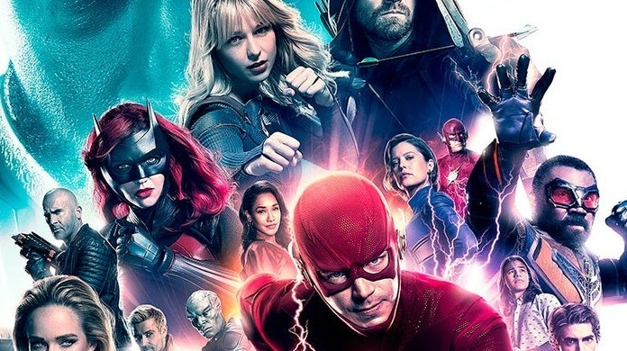 crisis on infinite earths poster the cw