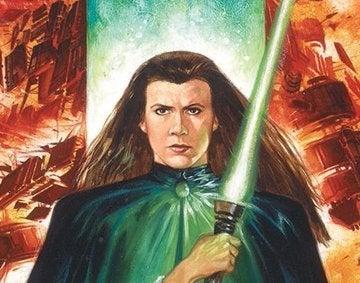 Dark Empire 6 Leia Lightsaber