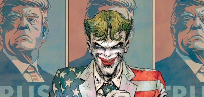 Dark Knight Returns Golden Child Trump