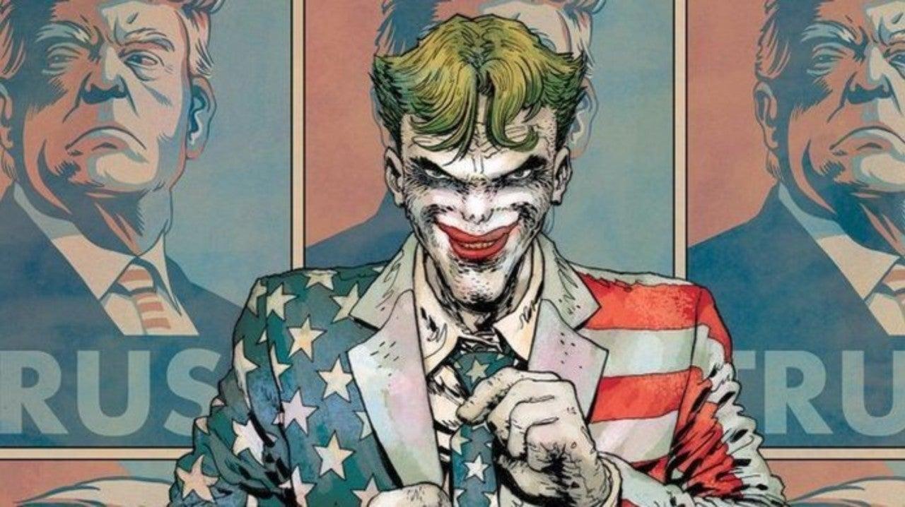 Joker Campaigns For Donald Trump In New Batman Image