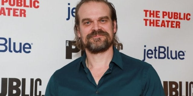 Black Widow Star David Harbour Addresses Rumors That He's Engaged