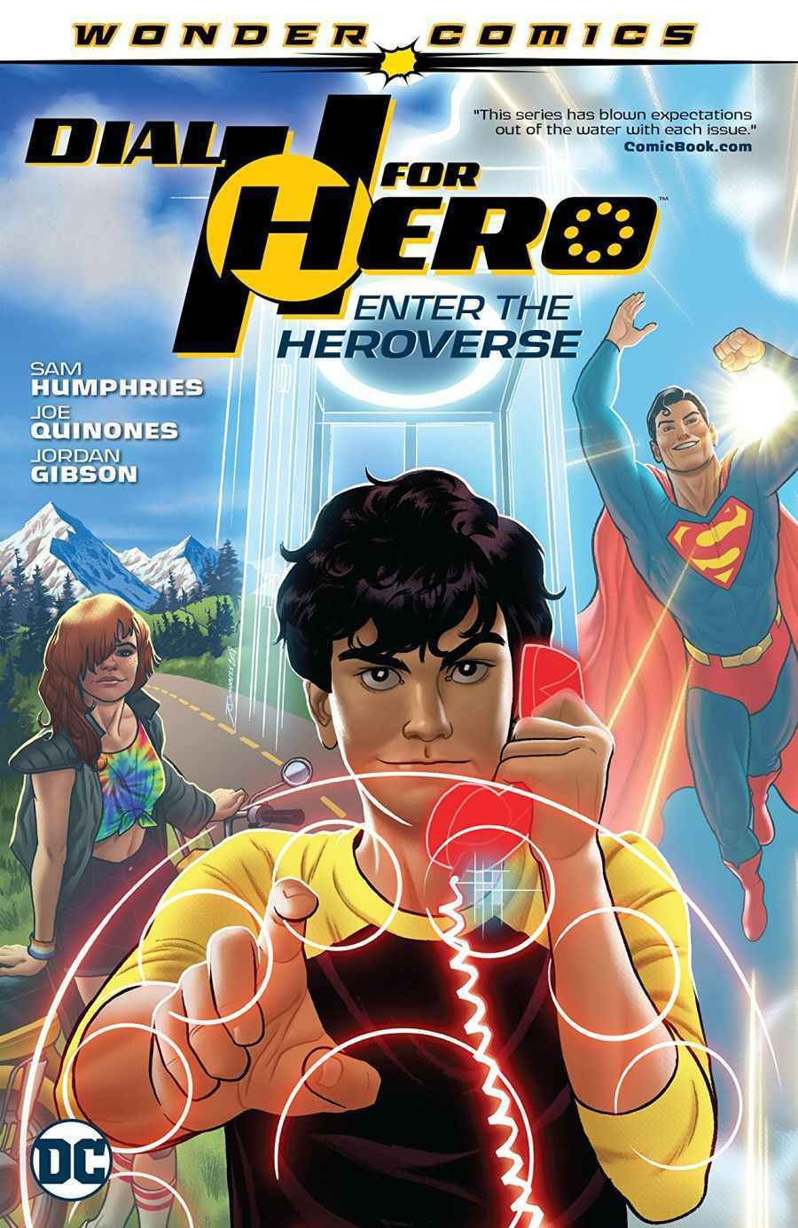 Dial H for Hero Vol 1 Enter the Heroverse