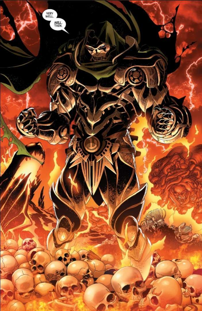 Doctor Doom Hell Armor