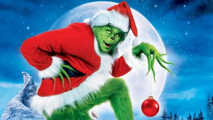 Dr Seuss How the Grinch Stole Christmas Jim Carrey