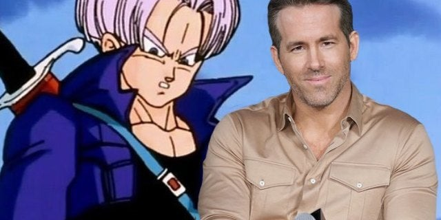 Dragon Ball Fans Cannot Unsee Ryan Reynold's Accidental Future Trunks Cosplay