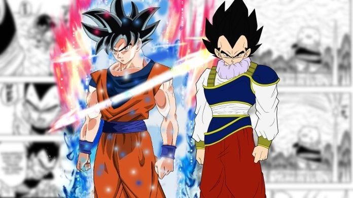 Dragon Ball Super Manga 55 Vegeta Stronger Goku Spirit Power Yardrat
