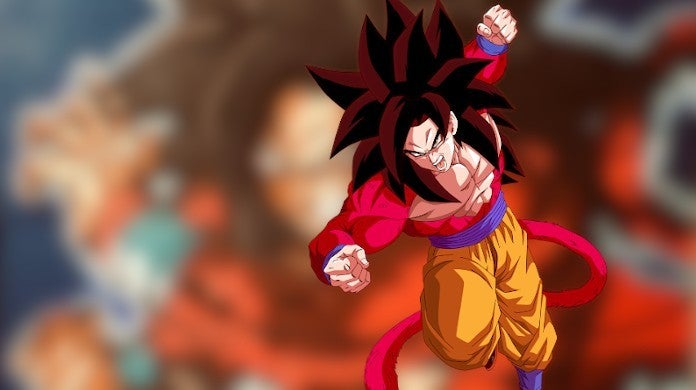 Dragon Ball Super Saiyan 4 Fan Art Canon