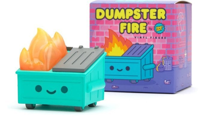 dumpster-fire-vinyl-toy