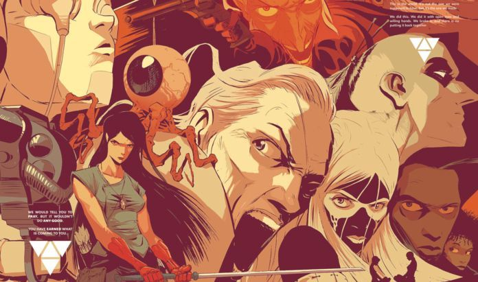 East of West #45 Review - Cover