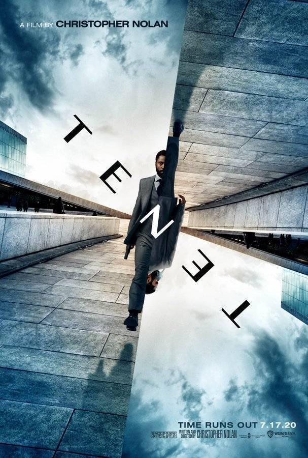 Confira o pôster oficial de TENET, novo filme de Christopher Nolan