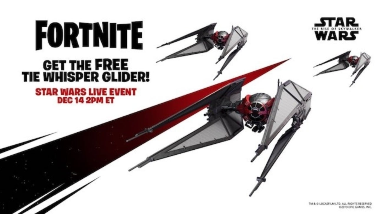 Fortnite: How to Get the Star Wars Tie Whisper Glider for Free
