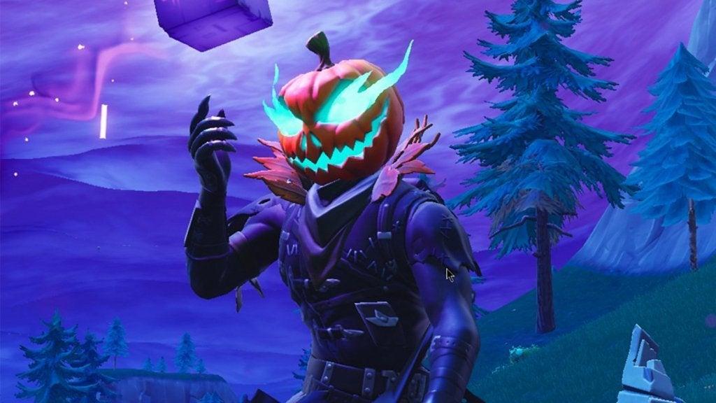 Fortnite Pumpkin Man