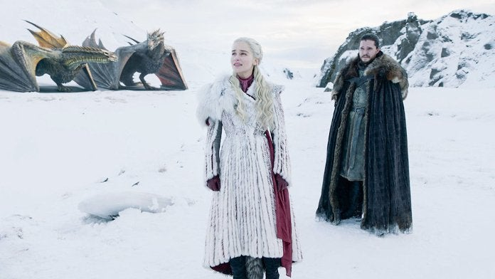 Game of Thrones Final Season 8 Daenerys White Fur Coat Madness Death Connection