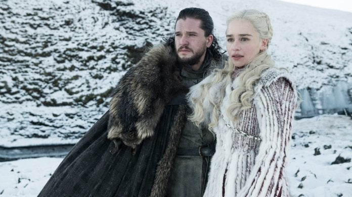 Game of Throns Season 8 Jon Snow Daenerys Kit Harington Emilia Clarke
