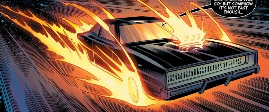 ghost rider hell charger spaceship