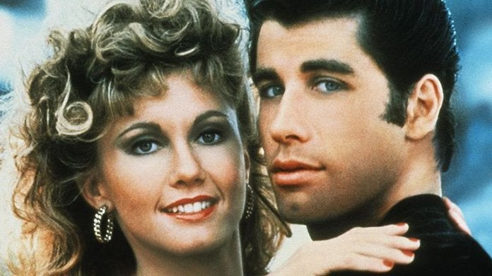 grease john travolta olivia newton john