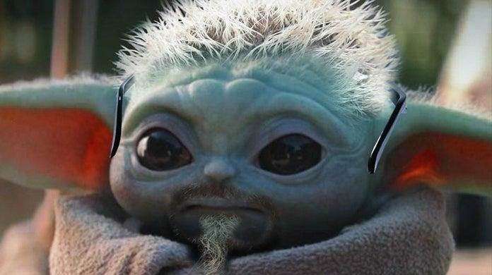 guy fieri baby yoda meme
