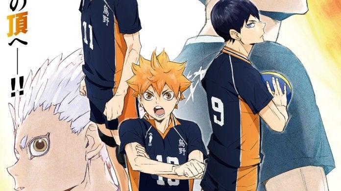 Haikyuu Season 4 Poster