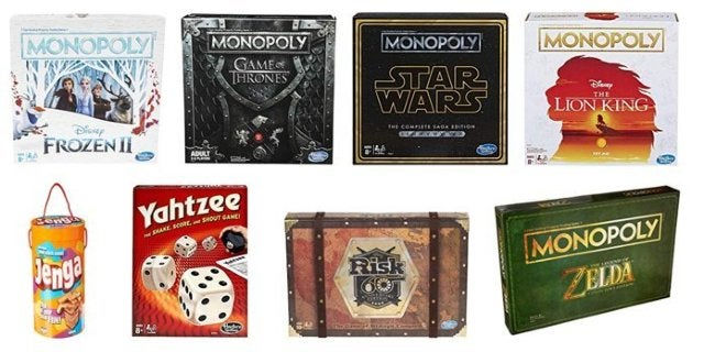Amazon's Cyber Monday Hasbro Board Game Sale is On