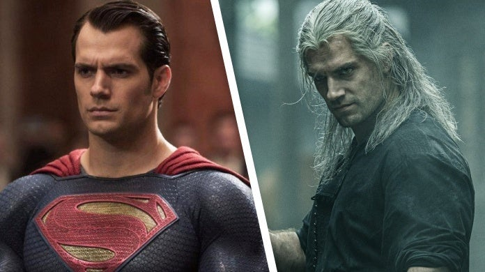 henry cavill superman the witcher