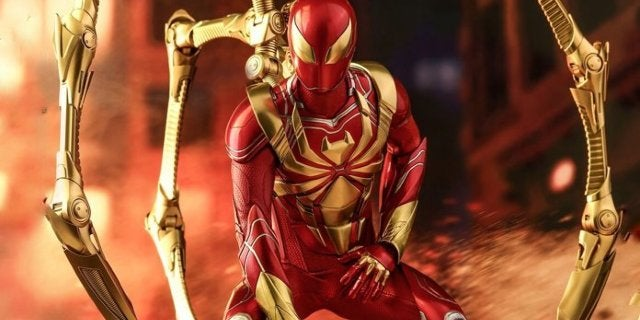 Marvel's Spider-Man PS4 Iron Spider Armor Gets a Hot Toys Figure