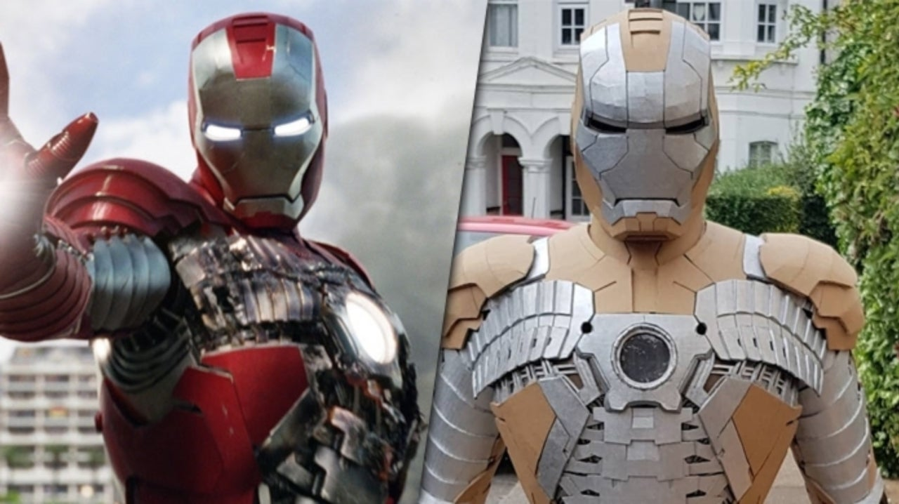 Iron Man Fan Completes the Ultimate Cardboard Costume