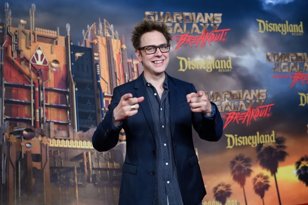 james gunn guardians of the galaxy mission breakout