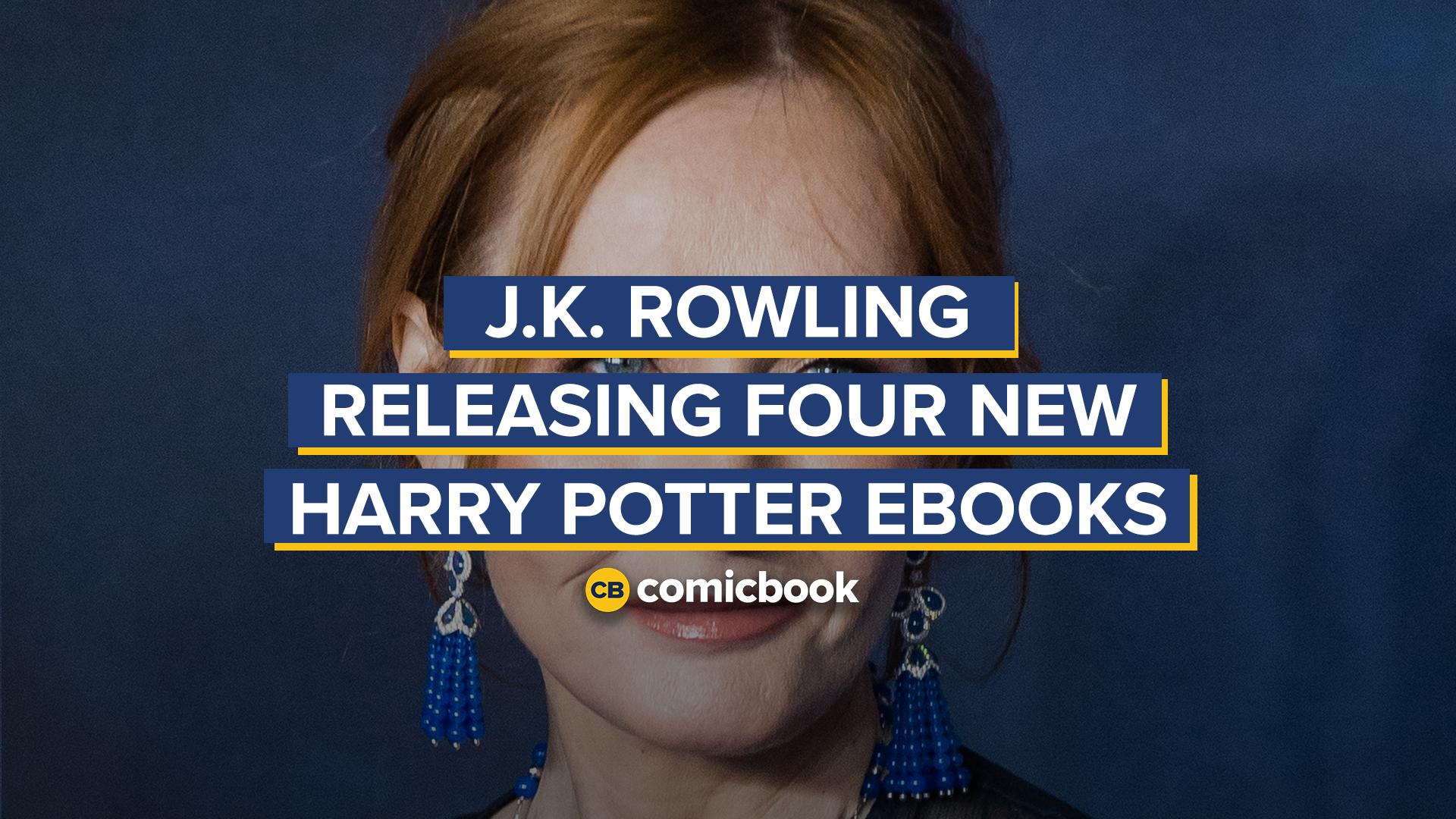 JK Rowling Releasing Four New Harry Potter Books screen capture