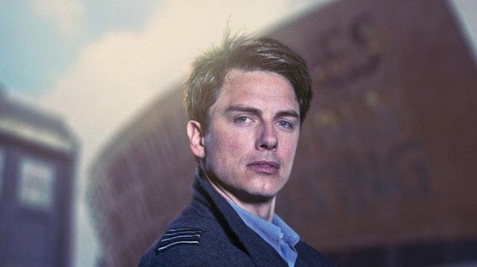 John Barrowman Captain Jack Harkness Doctor Who