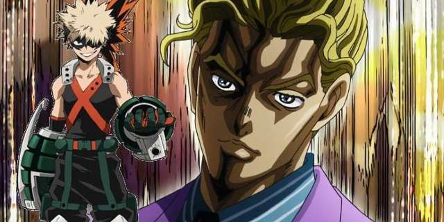"""JoJo's Bizarre Adventure Art Crosses Over With Other Anime To Form """"Team Explosion"""""""