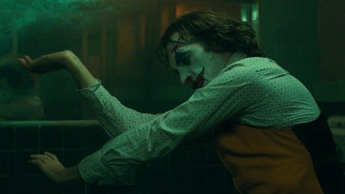 Joker bathroom dance Joaquin Phoenix