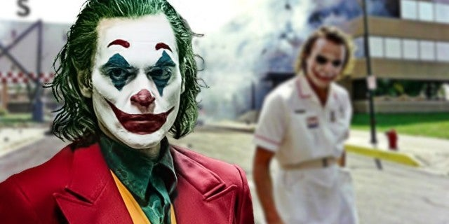 Joker Movie Heath Ledger Easter Egg Ambulance Face Paint
