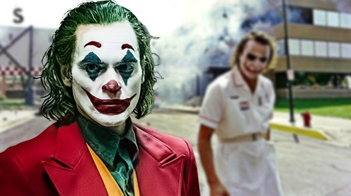 Joker Movie Heath Ledger Easter Egg Ambulance Face Paint