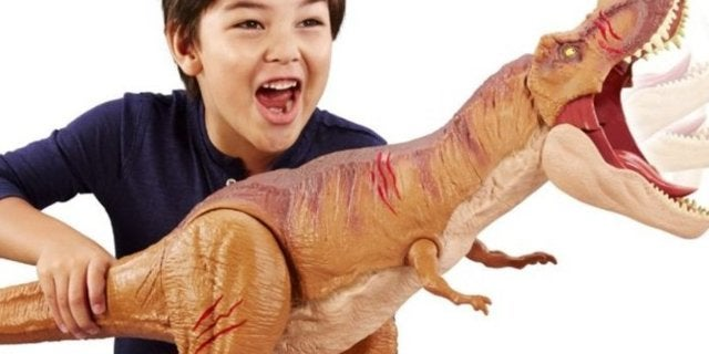 Massive Jurassic World T-Rex Toy Is on Sale for Only $22.49