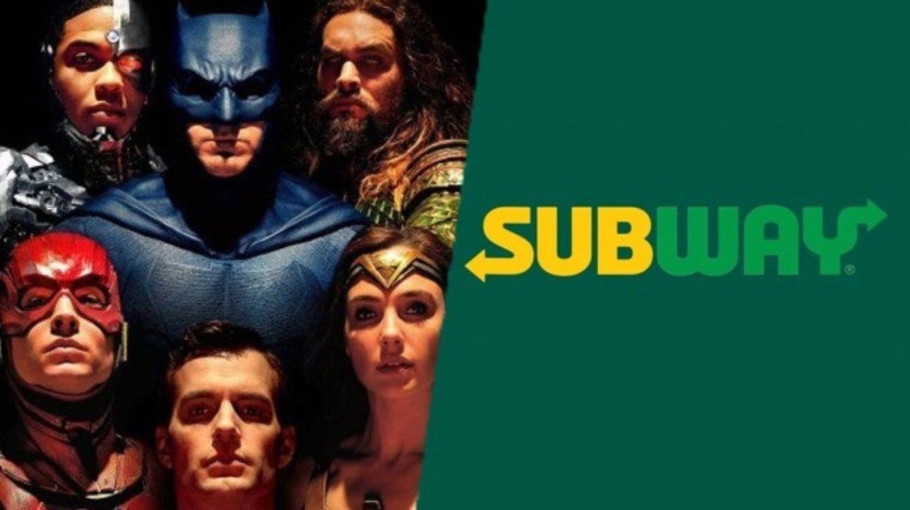 Subway Continues To Demand Release Of Justice League Movie Snyder Cut