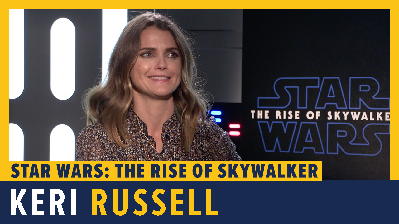 Keri Russell Talks Star Wars: The Rise of Skywalker screen capture