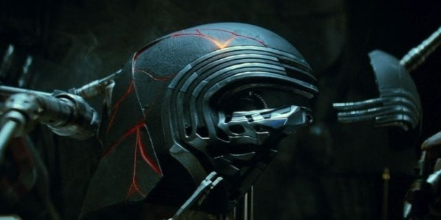 Kylo Ren Mask Rise of Skywalker