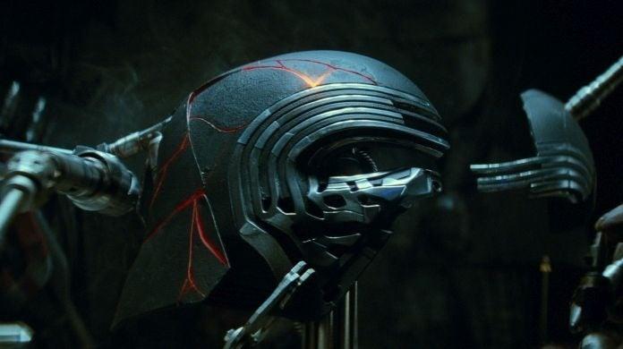 Kylo Ren Mask Rise of Skywalker