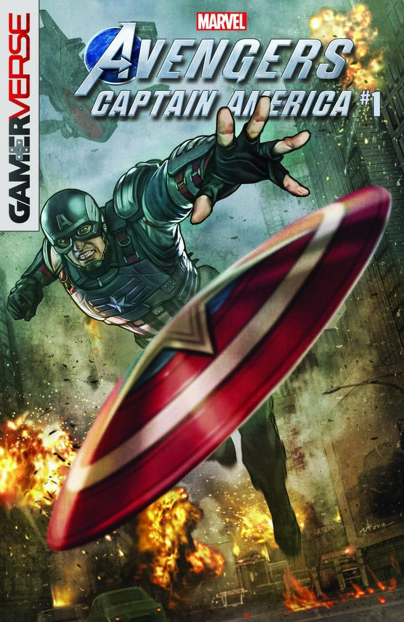 電玩《漫威復仇者聯盟》今天公開了美國隊長和黑寡婦兩人的前傳漫畫!