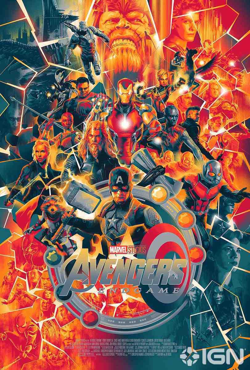 Marvel Avengers Endgame Poster Mondo