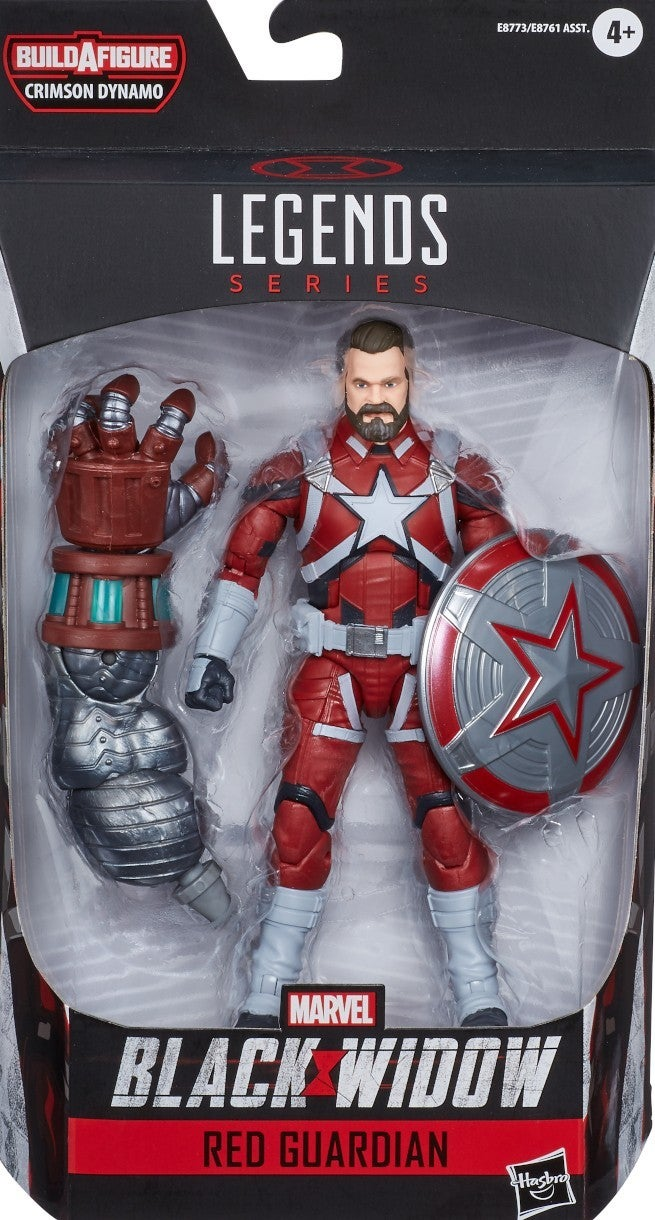 Marvel Black Widow Red Guardian Shield