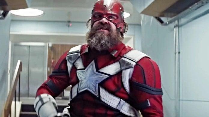 Marvel Black Widow Red Guardian Shield David Harbour